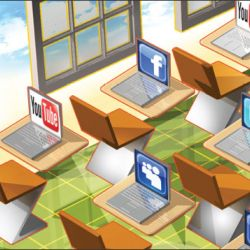 The Pros and Cons of Using Social Media in School